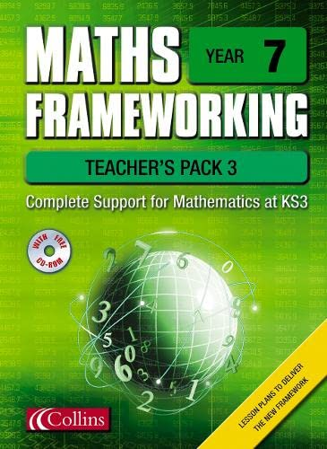 9780007138791: Maths Frameworking - Year 7 Teacher's Pack 3