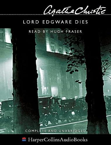 LORD EDGWARE DIES: Christie, Agatha (read