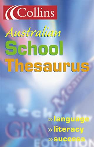 9780007139897: Collins New School Thesaurus