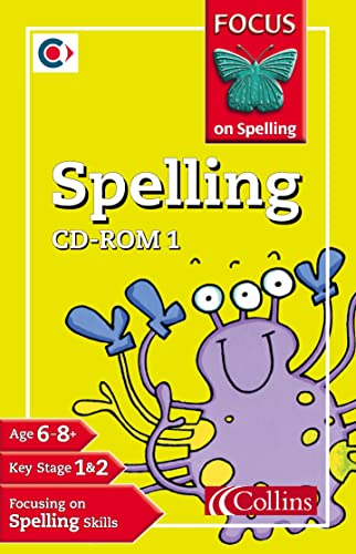 9780007140329: Focus on Spelling - Spelling CD-Rom 1: Years 2-3: Y2-3 No.1