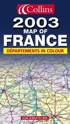 9780007140718: Map of France 2003
