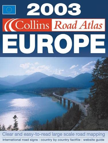 9780007140725: Collins Road Atlas 2003: Europe
