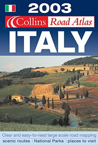 9780007140749: Collins Road Atlas: Italy (Road Atlas)