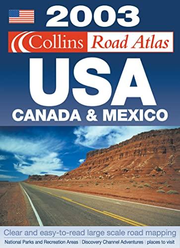 9780007140763: Collins Road Atlas: USA, Canada and Mexico (Road Atlas)