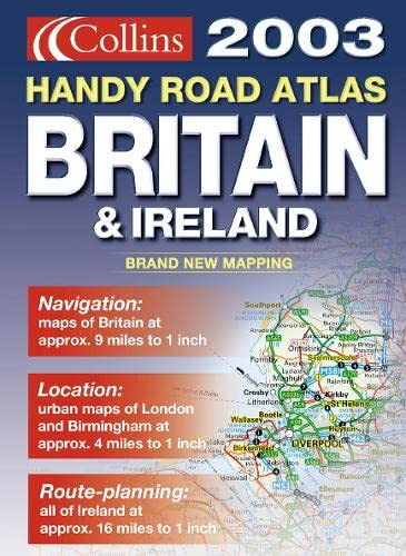 9780007141012: Handy Road Atlas Britain and Ireland 2003