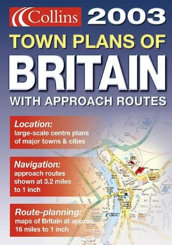 9780007141029: Handy Town Plan Atlas Britain 2003