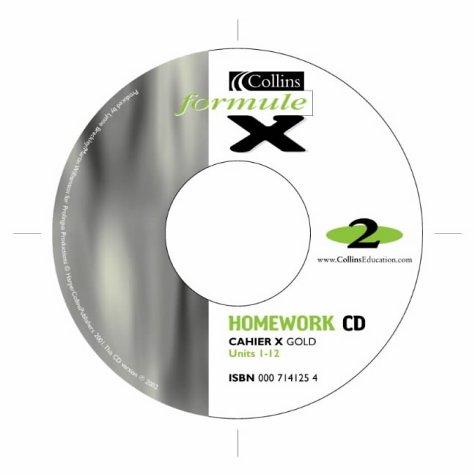 9780007141258: Formule X: Homework Audio CD Pack Level 2