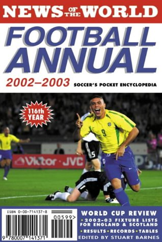 9780007141371: News of the World Football Annual 2002/2003