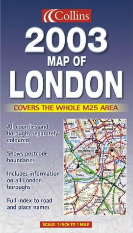 9780007141401: 2003 Map of London