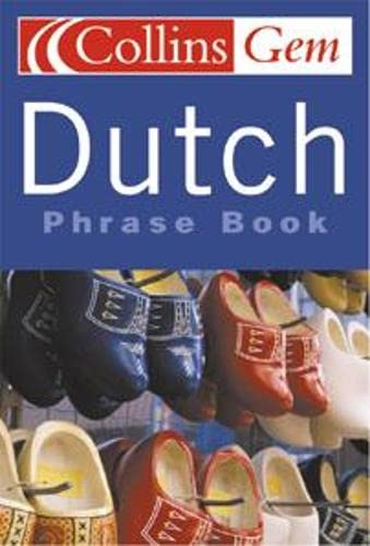 9780007141739: Dutch Phrase Book (Collins GEM)