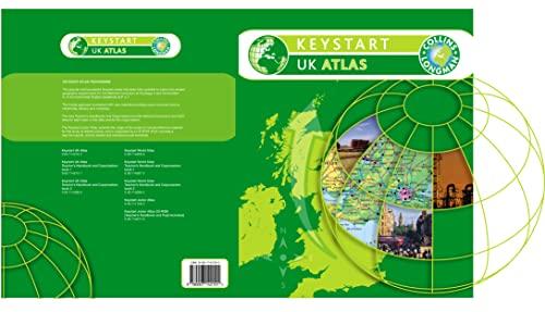 9780007142101: Keystart UK Atlas Paper (COLLINS - LONGMAN ATLASES)