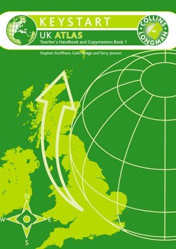 9780007142132: Keystart UK Atlas Teacher's Guide and Copymasters 1: Teacher's Guide and Copymaster Set 1 (COLLINS - LONGMAN ATLASES)