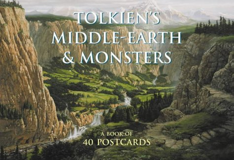 9780007142590: Tolkien's Middle-earth and Monsters: A book of postcards