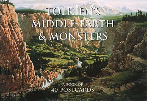9780007142590: Tolkien's Middle-Earth and Monsters Postcard Book: A Book of 40 Postcards