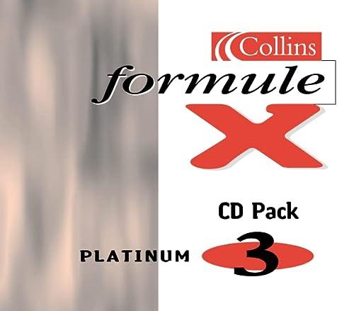 9780007142637: Formule X: Platinum Audio CD Pack Level 3