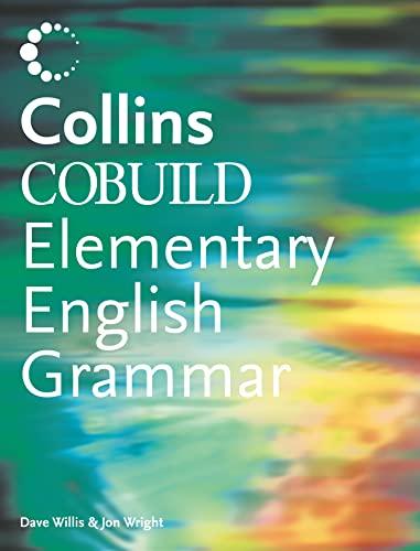 9780007143092: Collins COBUILD Elementary English Grammar