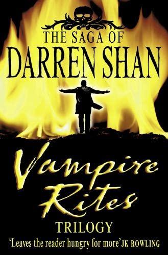 9780007143757: Vampire Rites Trilogy 3 in 1 (Saga of Darren Shan)