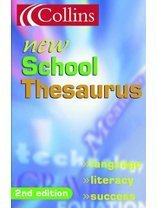 9780007144037: Collins New School Thesaurus
