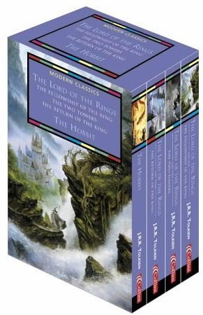 9780007144082: Collins Modern Classics - The Lord of the Rings/The Hobbit - Boxed Set of Four Books in Slip-case: AND The Hobbit
