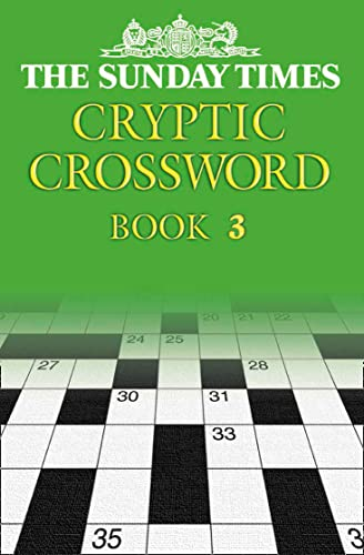 9780007144945: The Sunday Times Cryptic Crossword Book 3: Bk. 3