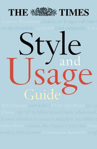 9780007145058: The Times Style and Usage Guide