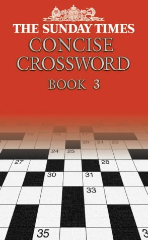 9780007146253: The Sunday Times Concise Crossword Book 3: Bk. 3
