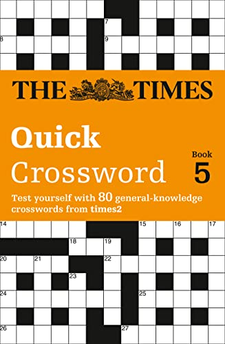 9780007146277: The Times T2 Crossword Book 5: The Best General Crossword in the World (Bk. 5)