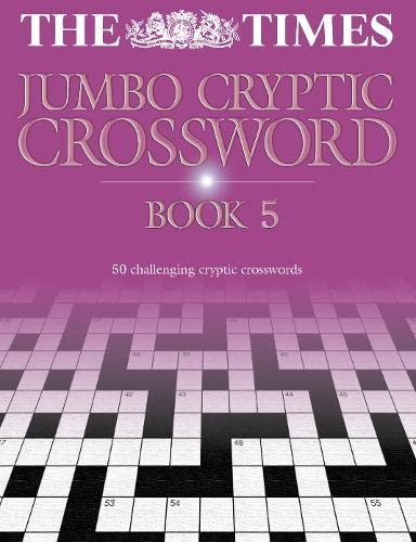 9780007146314: The Times Jumbo Cryptic Crossword Book 5: Bk. 5