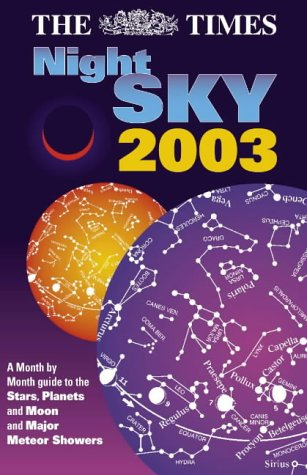 """9780007146789: The """"Times"""" Night Sky 2003: AND Starfinder Pack"""