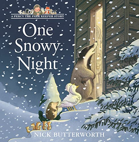 9780007146932: One Snowy Night (Percy the Park Keeper)