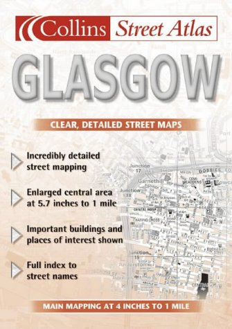 9780007147007: Glasgow Street Atlas (Collins street atlas)