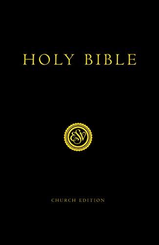 9780007147069: ESV Cross-ref Church Hardback Bible
