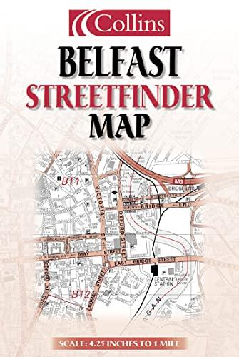 9780007147564: Belfast Streetfinder Map