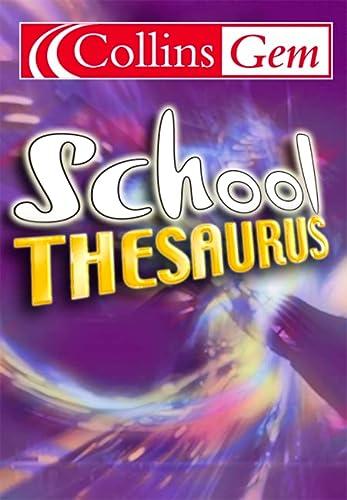 Collins Gem School Thesaurus: unknown