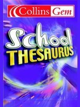 9780007148509: School Thesaurus (Collins GEM)