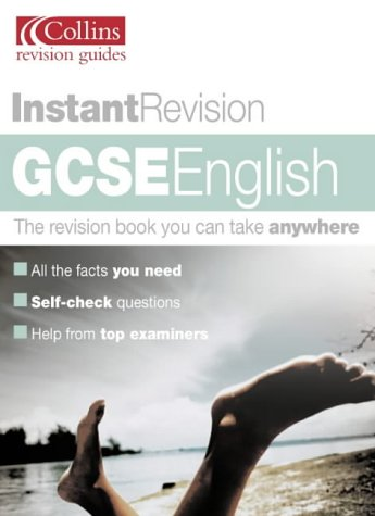 9780007148677: GCSE English: Instant Revision (Collins Study & Revision Guides)