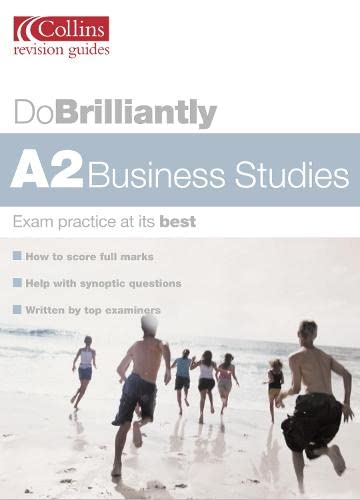 9780007148776: A2 Business Studies (Do Brilliantly at...)