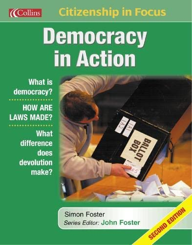 9780007149759: Democracy in Action (Citizenship in Focus)