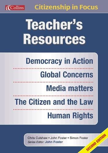 9780007149780: Teacher's Resources (Citizenship in Focus)