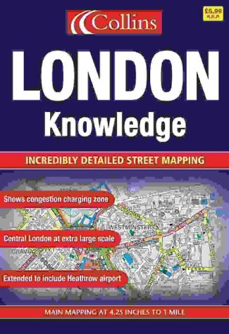 9780007149995: London Knowledge Atlas