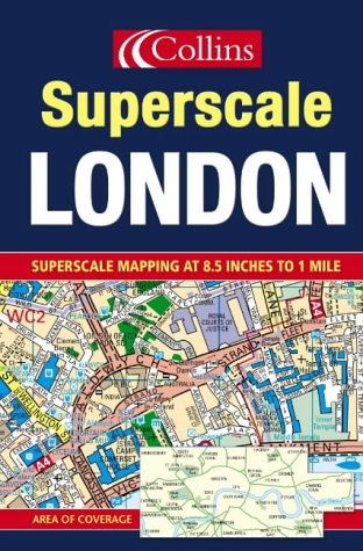9780007150045: London Superscale Atlas (Road Atlas)
