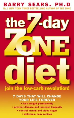 9780007151127: THE 7-DAY ZONE DIET: JOIN THE LOW-CARB REVOLUTION!