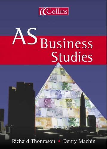 9780007151202: AS Business Studies