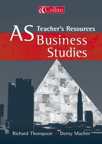 9780007151219: AS Business Studies: Teacher's Resources