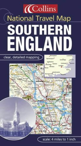 9780007151899: National Travel Map - Southern England