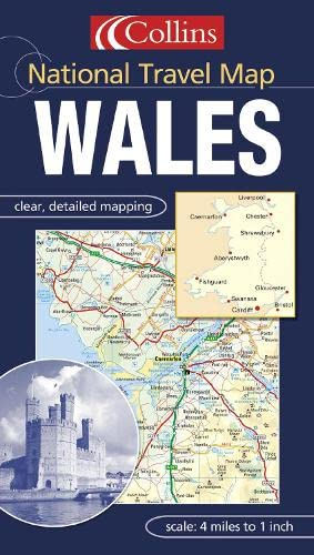 9780007151912: Wales (National Travel Map)