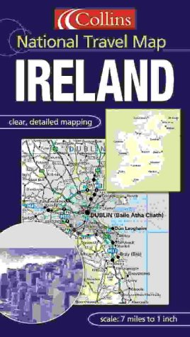 9780007151950: Ireland (National Travel Map)