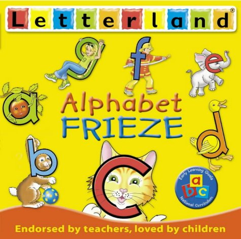 9780007152711: Letterland - Alphabet Frieze