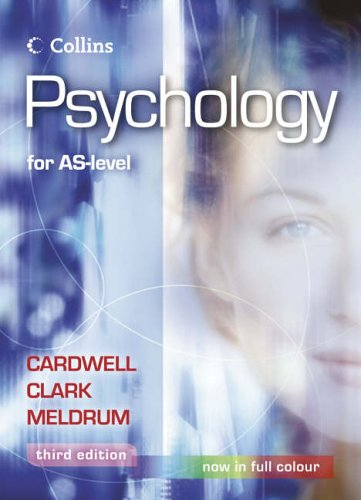 9780007153633: Psychology - Psychology for AS Level