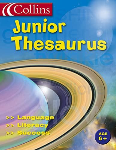 9780007154289: Collins Junior Thesaurus (Collins Children's Dictionaries)
